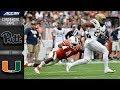 Lagu Miami vs. Pittsburgh Condensed Game  2018 ACC Football