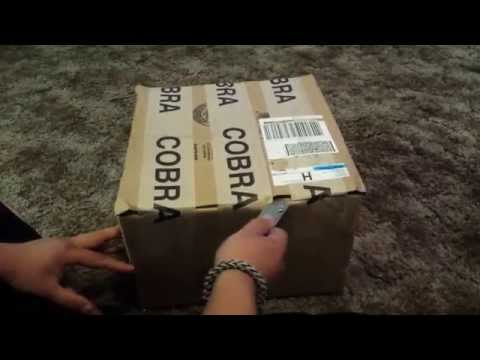 Unboxing gift from Joel Robinson