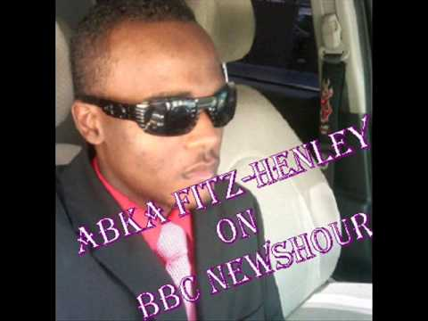 Abka Fitz Henley on BBC News Hour discussing Asafa Powell postive drug test - July 15, 2013