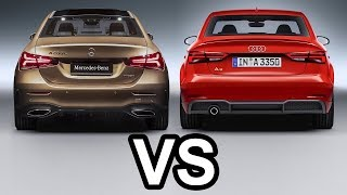 2019 Mercedes A Class L Sedan vs 2018 Audi A3 Sedan