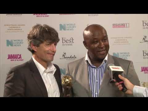 Ramel Sobrino and David Latchimy, Sandals Resorts International