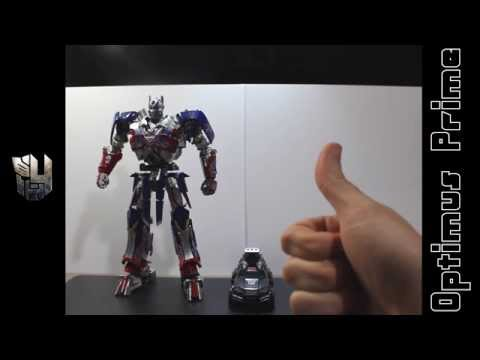 Transformers AOE Leader Optimus Prime custom Review (Castellano)