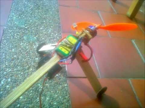 How to make a homemade RC plane