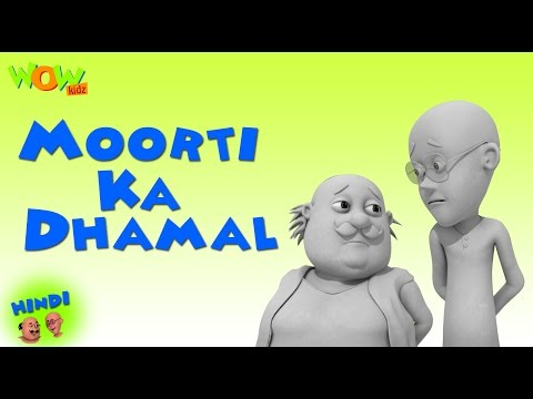 Moorti Ka Dhamal- Motu Patlu in Hindi - 3D Animation Cartoon for Kids - As on Nickelodeon thumbnail
