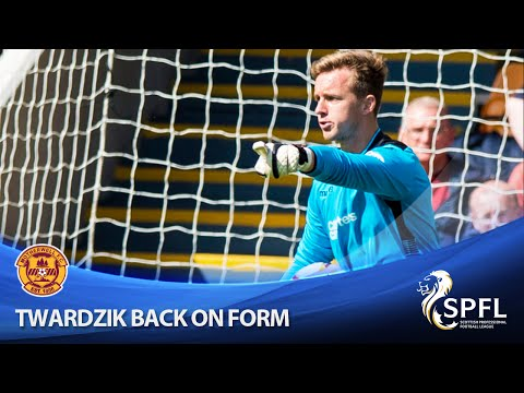 Motherwell keeper atones for error with fine goalkeeping