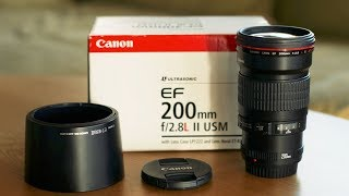 Awesome Affordable Telephoto Lens - Canon 200mm f2.8 L - For Mirrorless and DSLRs