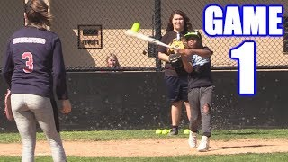 AMAZING OPENING DAY! | On-Season Softball Series | Game 1