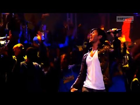 Enrique Iglesias - I like how it feels (live, HD, lyrics)