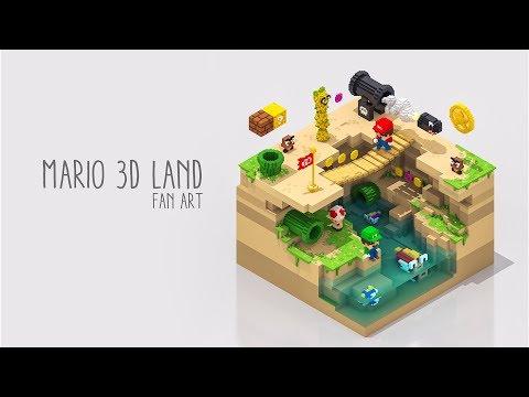 Mario 3D Land Fan Art