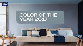 Dulux Colour of the Year 2017年度主題色 - DENIM DRIFT 水洗藍