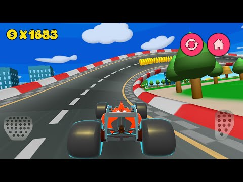 Cartoon Cars Driving - Available on Google Play