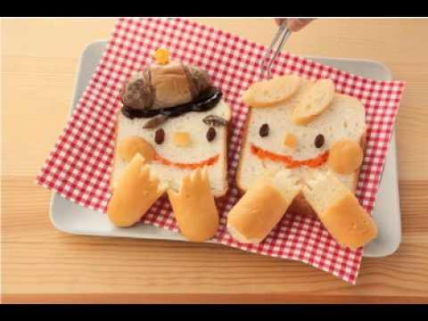 【アニメ・レシピ】パパと一緒にデコパン How To Make Deco Bread With Dad