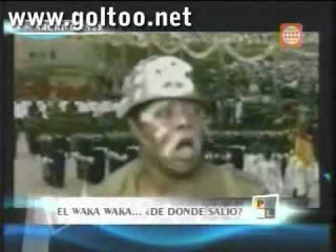El Waka Waka De Shakira No Es Original Es Plagio video