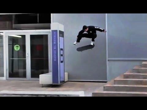 INSTABLAST! - Massive 360 Flip Down 8 Block!! Backyard Pool Destruction!! 9yo Boardslide 16 Rail!!