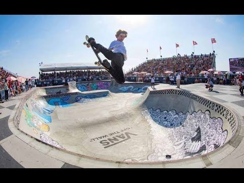 Pool Skating Mayhem from Huntington Beach | Vans Park Series 2017