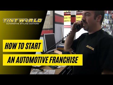 Start An Automotive Business - Tint World Franchise Opportunities