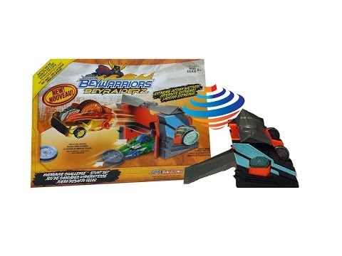 Beyblade BeyRaiderz Overdrive Challenge Stunt Set Unboxing Review Giveaway Exp March 2nd 2014