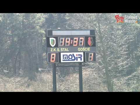 Stal Stalowa Wola - Warta Poznań 0:1 (bramka W 7:03 Min. Meczu)