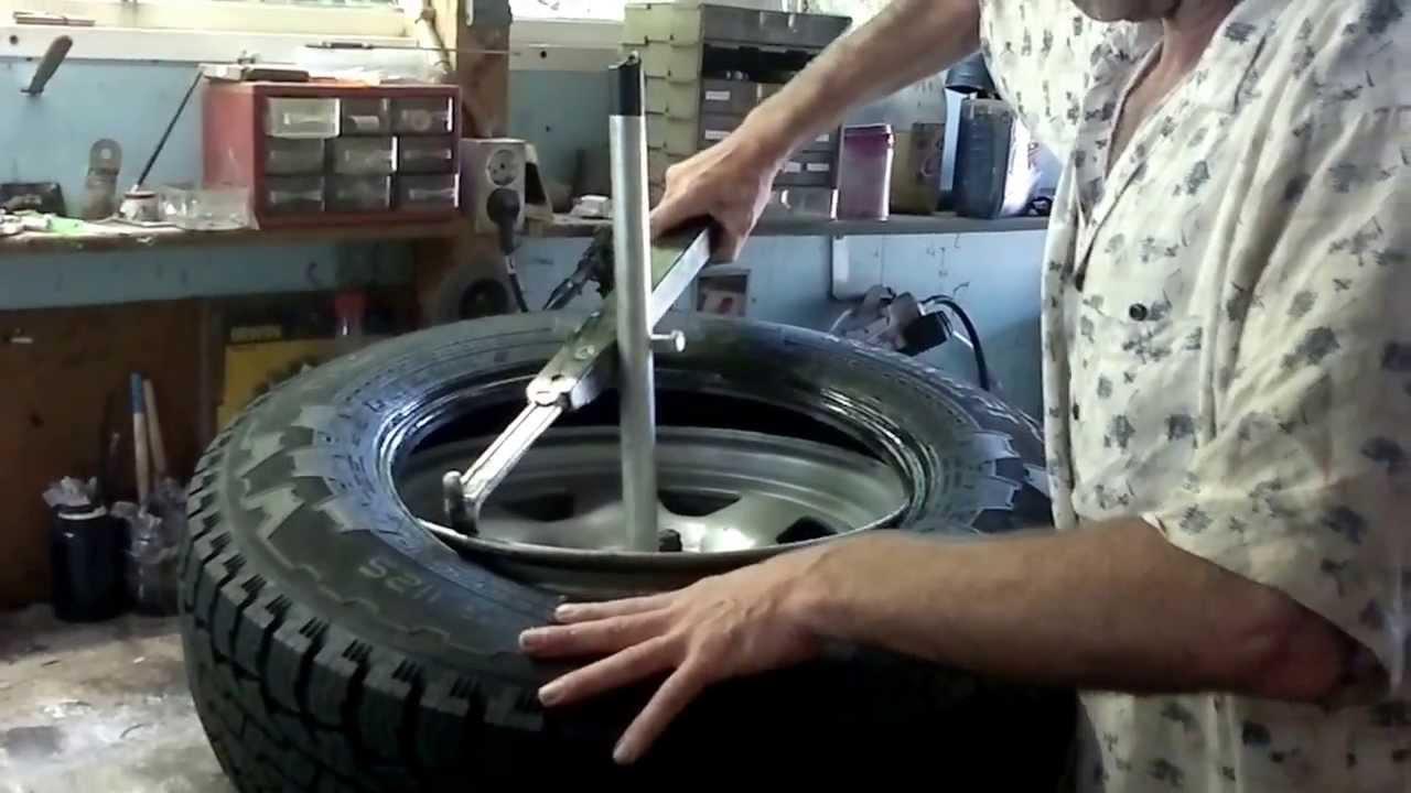 Manual Wheel Tyre Changer Tool Diy And Wobble Repair