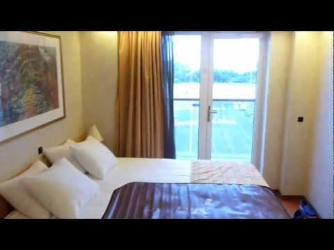 Carnival Pride Balcony Stateroom Walkthrough - Room #7249