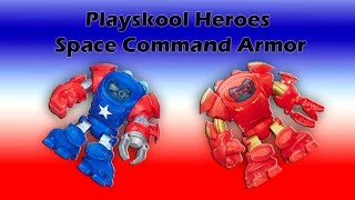 Playskool Heroes Marvel Space Command Armor, Captain America, Thanos
