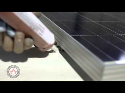 Canadian Energy's - RV Solar Panel Installation
