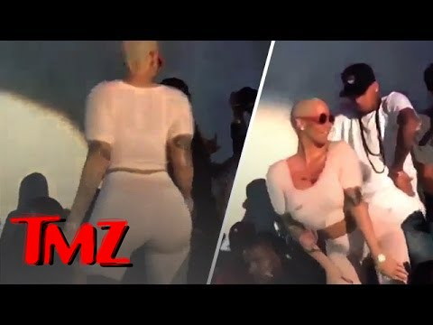 Amber Rose – All Up On Chris Brown!