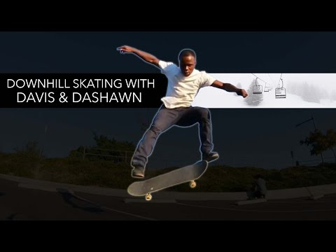 Downhill Skateboarding with Dashawn Jordan & Davis Torgerson