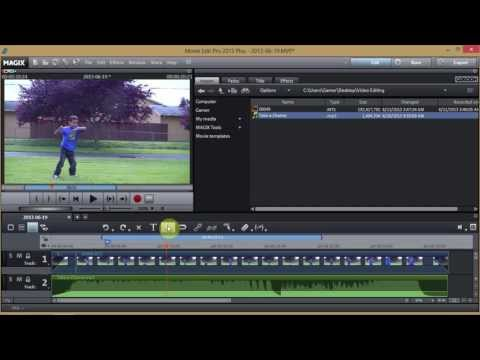 Complete Video Editing Tutorial ~ Magix Movie Edit Pro 2013 & Give Away