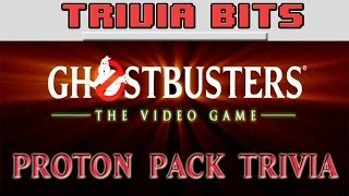Download Lagu Trivia Bits: Ghostbusters The Video Game - Proton Pack Trivia Gratis STAFABAND