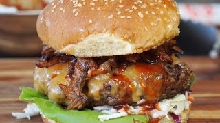 Texas Backyard BBQ Burger Recipe!