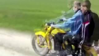Смешные приколы на мотоциклах