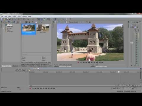 Урок 5 Sony Vegas Импорт в программу медиа-файлов