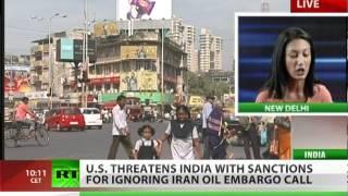 US threatens India over Iran oil