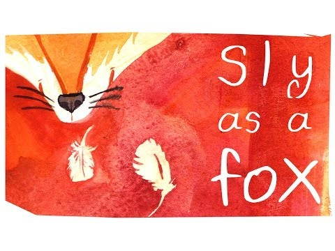 Sly as a fox - by Mary Doodles