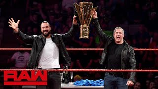 Shane McMahon and Drew McIntyre's Super ShowDown celebration: Raw, June 10, 2019