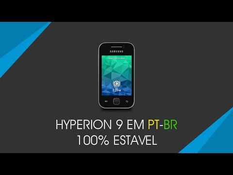 Rom Hyperion 9 para o Galaxy Y em PT-BR [ESTAVEL]