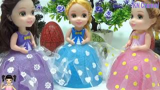 ChiChi ToysReview TV - Trò Chơi búp bê ly kem giải cứu cho những quả trứng khủng long