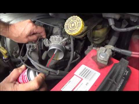 Rough Idling? Time to clean that throttle body. CRC Throttle body cleaner review
