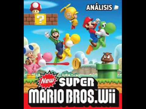 New Super Mario Bros Wii Music- World 7 Map #1