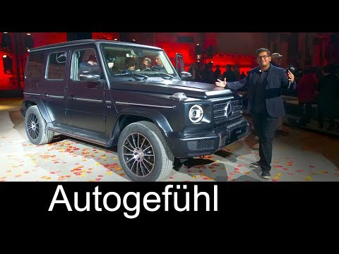 All-new Mercedes G-Class Launch REVIEW G Wagon G-Klasse w464 - NAIAS 2018 - Autogefühl