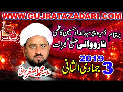 Allama Muhammad Asghar Yazdani 3 jamadi ul sani 2019 Narowali Gujrat