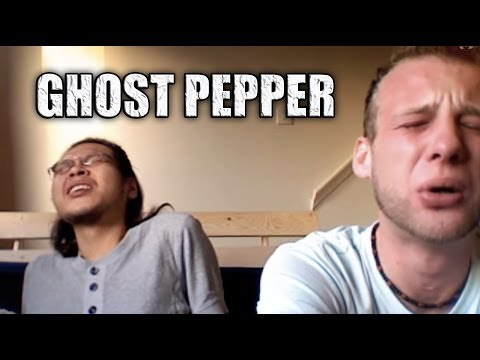 Eating The Ghost Pepper (Bhut Jolokia)