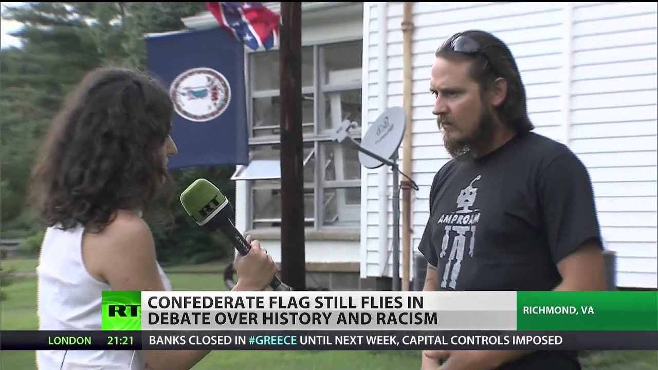 Confederate flags continue to fly amid protests, tension