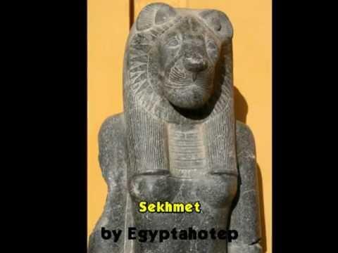EGYPT 239 - ANAT, PAKHET & SEKHMET *Egyptian Goddesses IX* (by Egyptahotep)