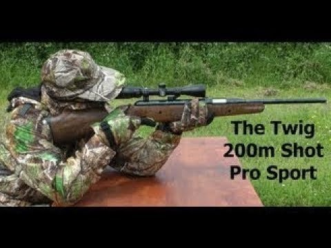 218 YARD AIR RIFLE SHOT - Exploding Air Gun Sniper Shot