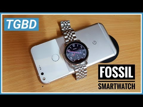 Fossil smart watch Q wander review TGBD