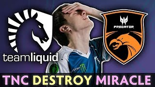 TNC vs LIQUID — 100% COUNTER to MIRACLE on TI9
