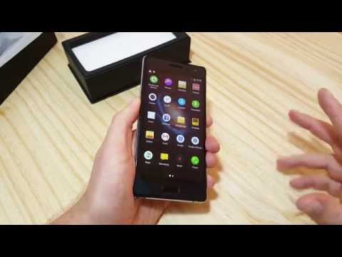 Bluboo XTouch Unboxing & Hands On (English. 4k)