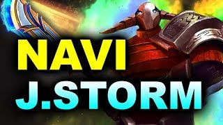 NAVI vs J.STORM - ELIMINATION MATCH! - STOCKHOLM MAJOR DreamLeague DOTA 2